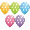 žirniukais dekoruotas balionas, MIX 12''', vnt kaina
