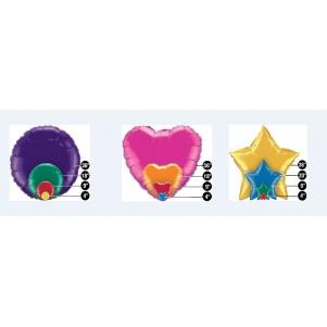 Folinių balionų išmatavimai