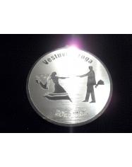 Medalis plastikinis iš organinio stiklo