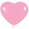 Rožinės širdys, 25-28 cm. vnt.kaina