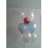 Balionų dekoracijos su heliu