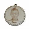 Medalis medinis su foto nuotrauka