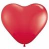 Raudonos širdys. 25-28 cm. vnt.kaina