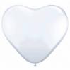 Baltos širdys, 25-28 cm. vnt.kaina