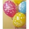 Mix Balionai gimtadieniui:berniukams, mergaitėms 28-32 cm su heliu