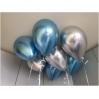 """Chromo """"Veidrodiniai"""" balionas su heliu"""