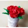 Rožė iš satino