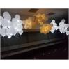 LED balti ir mix (keičiasi efektas) su helio balionais