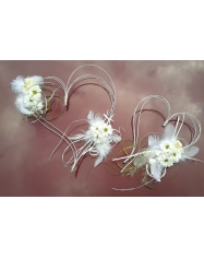 Orchidėja su karoliukais