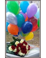 Dovanų, gėlių, balionų pristatymas