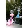 "Balionų dekoracijos su heliu - ""čiulptukas"""