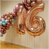 Burbulinės balionų dekoruotos Girliandos,