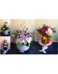 Dirbtinės gėlės mix