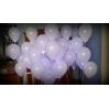 LED (keičiasi efektas) su helio balionais